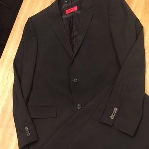 Hugo Boss Brown Slim Fit Suit